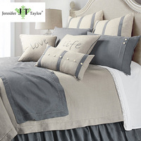 Home textile bedding set/quilt duvet comforter bed cover sheets/linen fabric queen size 4 pieces bedding sets
