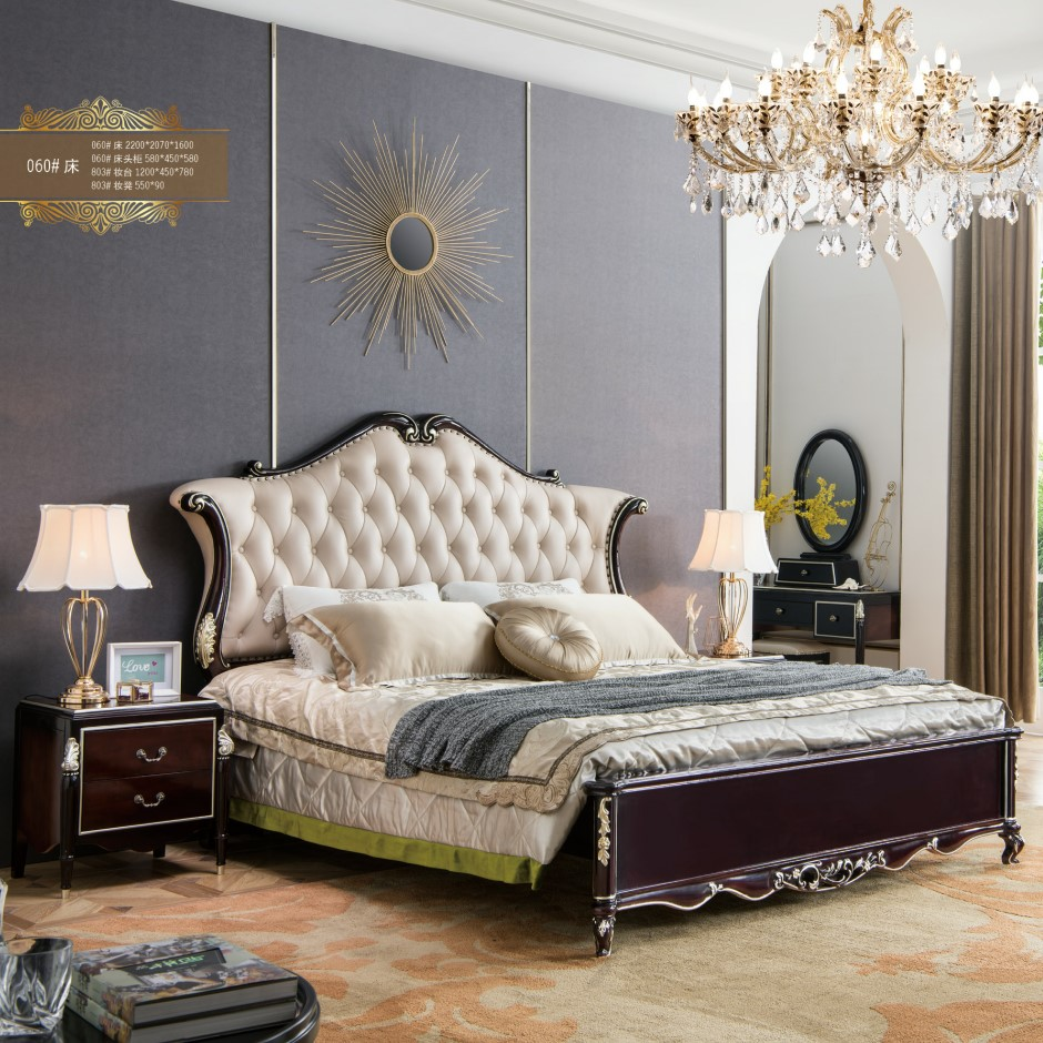 White And Gold Bedroom Furniture,Strong Wooden Bed Frame - Buy Indian  Rosewood Furniture,Storage Bed Frame,White And Gold Bedroom Furniture  Product on ...