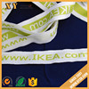super soft jacquard elastic nylon webbing/band with custom logo for underwear
