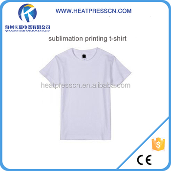 Polyester material t shirt for sublimation printing buy for Sublimation t shirt printing companies