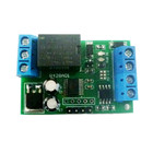 R428A01 mini DC 12V RS485 Delay Relay Module Modbus Rtu Uart Switch Board for CCTV Camera PTZ Control Home Automation
