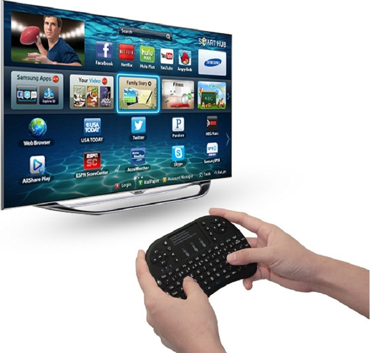 Zoweetek Rii I8 Wireless Keyboard For Tcl Smart Tv / Android Tv