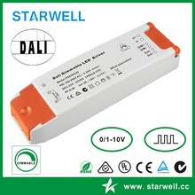 PE45DA55 output 15-55VDC 700MA constant current DALI led driver dimming for led light