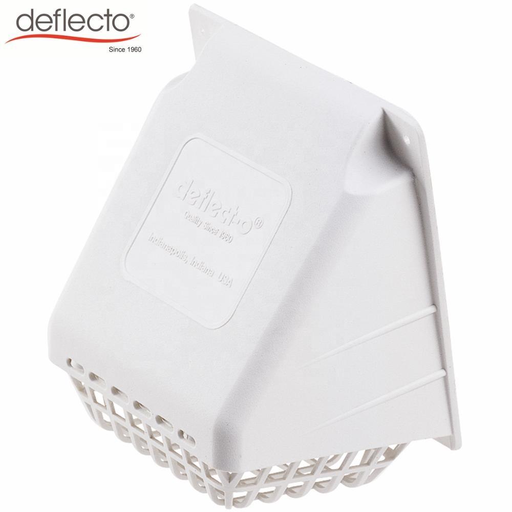 Deflecto Replacement Dryer Vent Hood White Home Garden Bathroom