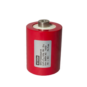 Double side metallized polypropylene film capacitor