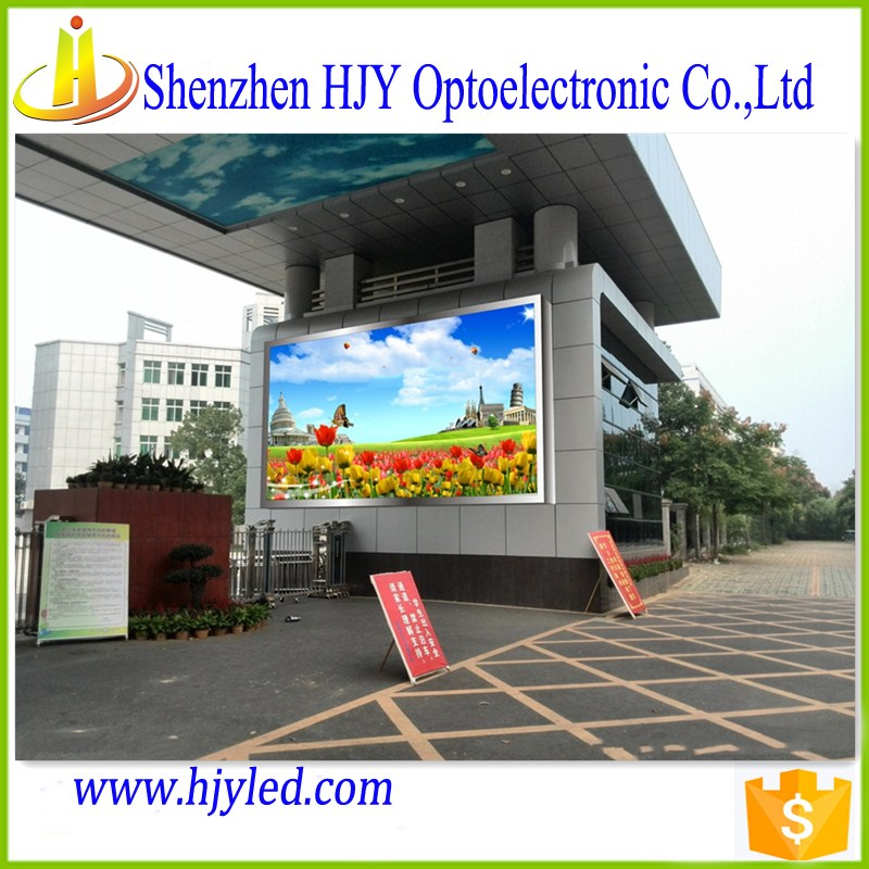 display stand top sale products in alibaba p10 outdoor full color led sign digital wall clock