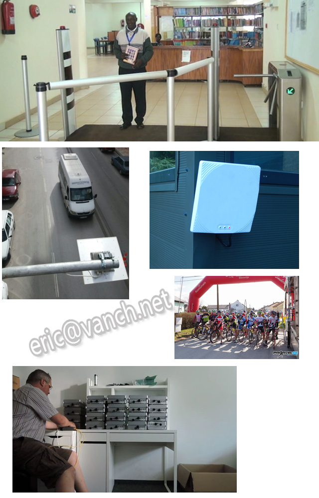 warehouse management long distance uhf handheld rfid scanner