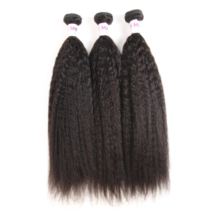 40 Inch Bohemian Private Label Silky Virgin Kinky Straight Cuticle Aligned Hair