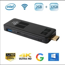 Intel Z8300 Quad Core 2GB RAM 32/64GB ROM compute stick Win 10 + Android 4.4 Dual Boot