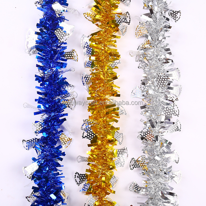 best christmas tinsel garland Made in China