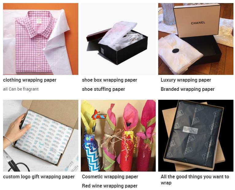 Colorato stampato Vestiti del tessuto personalizzato di imballaggio di carta
