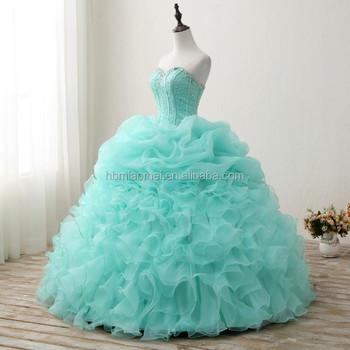 China Supplier Custom Made Sleeveless Puffy Wedding Dress 2017 Cheap ...