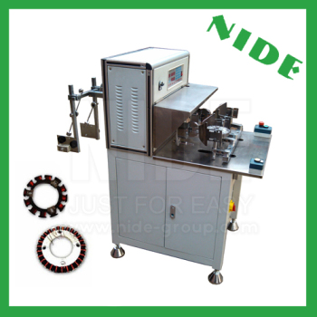 Automatic external rotor fan motor table fan coil winding machine