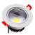 5 jaar garantie led fire nominale downlight 7 w 12 w ronde vierkante verzonken randloze cob led downlight 60 w
