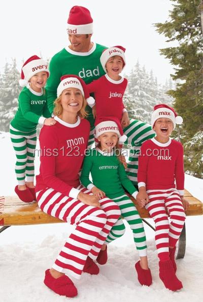 6f98c8a87 100% Algodón Orgánico Niños Rayas Pijamas Niños Navidad Pijamas Al Por  Mayor - Buy 100 Pijamas De Algodón Niños