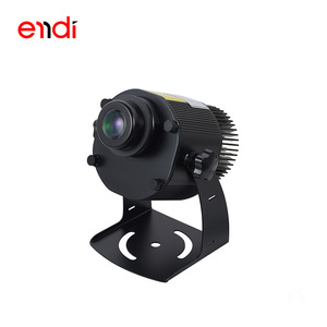 ENDI good quality 15W&25W outdoor gobo logo Projector light Waterproof Customized Advertising lights with CE CC attestation