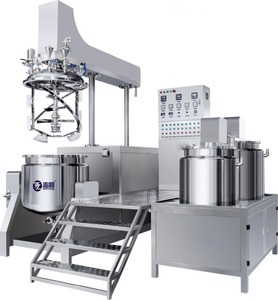 China factory 500L High Quality Vacuum Emulsifying Mixer for cosmetic and and food