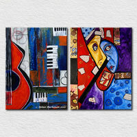 Canvas pictures abstract wall art cheap for home decoration