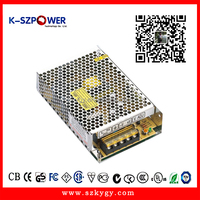 230Vac to dc 24v 2.5a 60w IP20 no-waterproof metal box LED switching power supply with CE UL CUL KC FCC ROHS