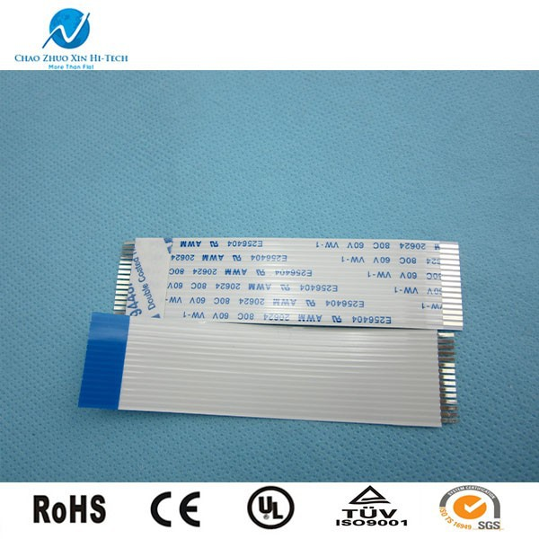 customized 2.54mm pitch stripped ribbon flat cable for lcd display