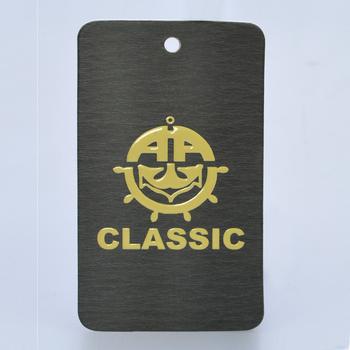 Custom Printing Hang Tag Label T Shirt Clothing Paper Hang Tag For ...