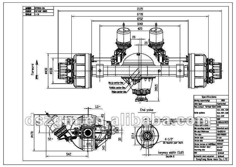 Rockwell Axles, Rockwell Axles Suppliers and Manufacturers at ...