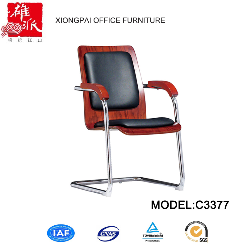 Pu leather stainless steel structure z style office chair C3377