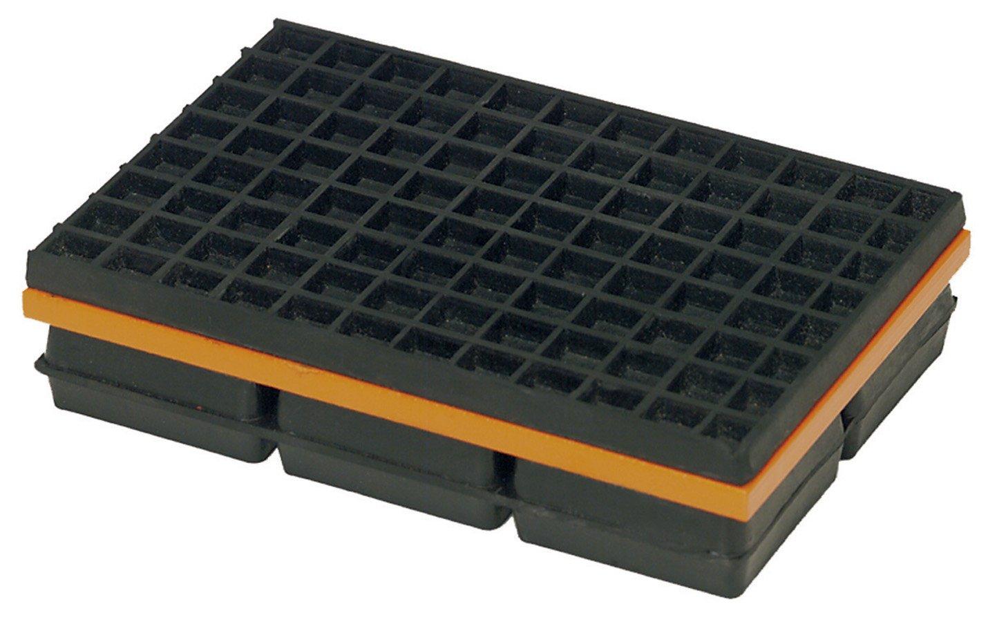 MASON Neoprene Vibration Isolation Pad,600lb,PK2 20UZ18