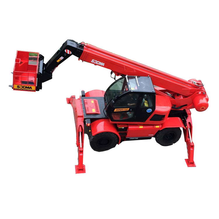High Quality And Resonable Price Rotate Telescopic Boom Forklift Truck