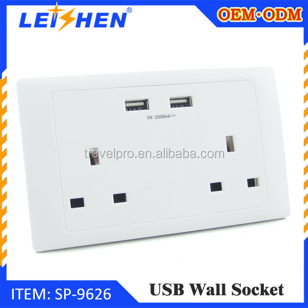 residential / general purpose British wall socket SP9626