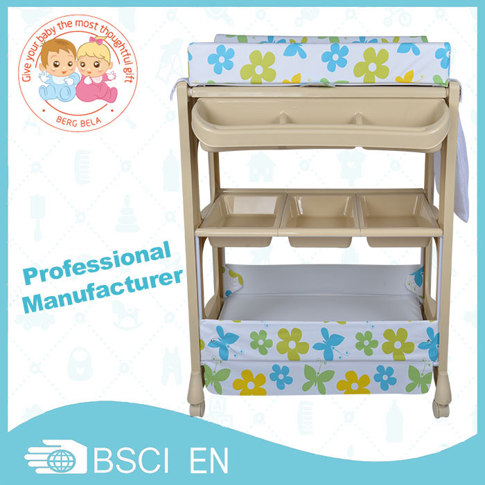 for sale changing table with bath tub changing table with bath tub wholesale supplier china. Black Bedroom Furniture Sets. Home Design Ideas