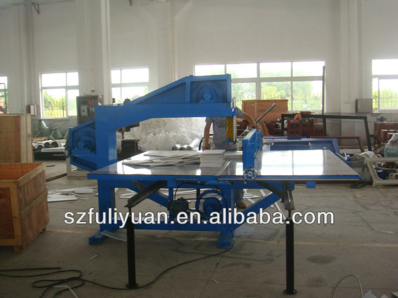 FULIYUAN vertical pe foam cutting machine and automatic horizontal foam cutting machine