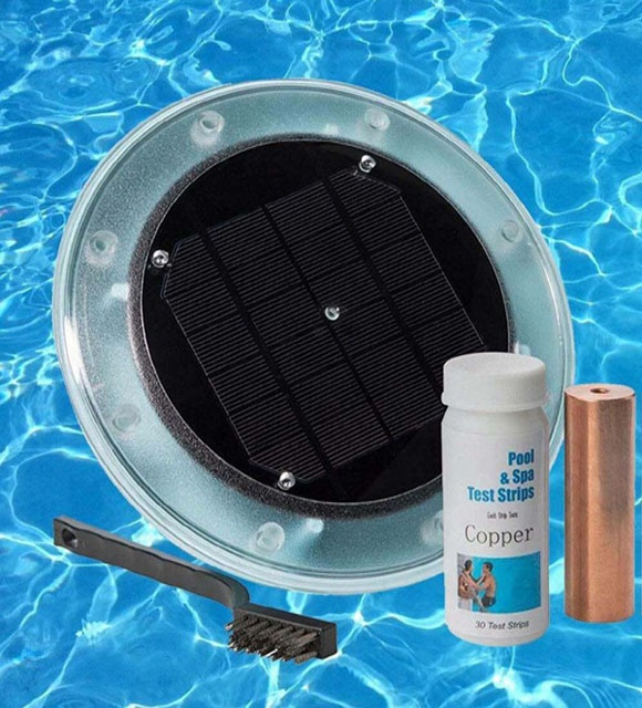 Solar Swimming Pool Ionizer Cleaner - Ionizador Solar Piscinas - Buy Solar  Pool Ionizer,Solar Pool Cleaner,Pool Salt Chlorinator Product on ...