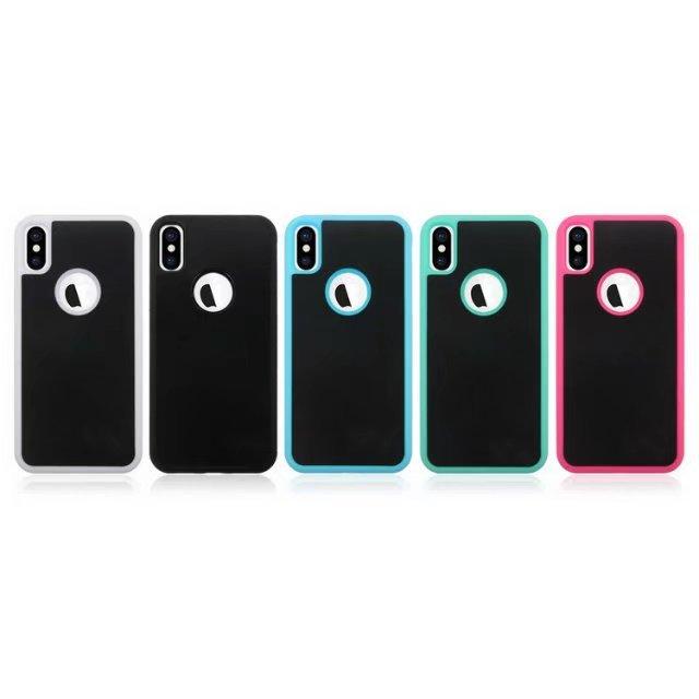 Anti Gravity High Quality Nano Materials TPU PC Phone Case For iPhone XR Xs Xs Max