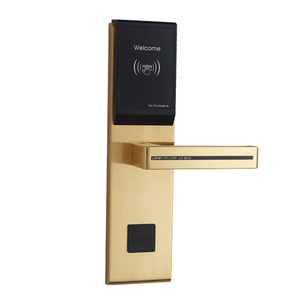 Hotel RFID Card Digital Electronic Keyless Security Entry Door Lock
