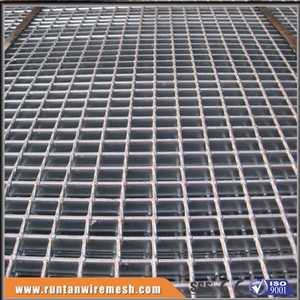 galvanized catwalk metal grid steel grating, steel walking platform