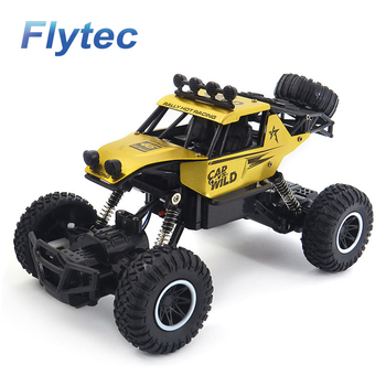 Flytec SL - 109A RC Car Remote Control Racing Car 2.4Ghz High Speed Rock Off Road Vehicle 1 : 20 2WD Radio Mini Car Toy