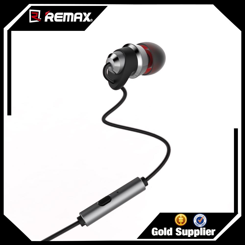 Remax Rm-585 Metal Touching Earphone