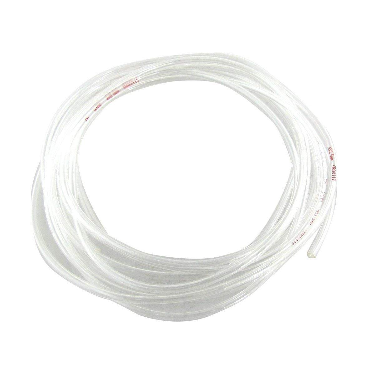 Transparent 4 M 13.1 Ft 4 Mm X 2.5 Mm Pneumatic Polyurethane Air Hose