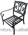 cast aluminum outdoor furniture garden park patio furniture set cheap club chair SH111
