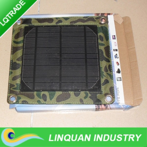Mini 3W Waterproof and portble solar charger bag for Ipad/Iphone