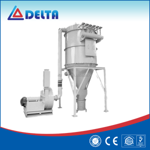 Baghouse furnace cyclone dust collector for wood