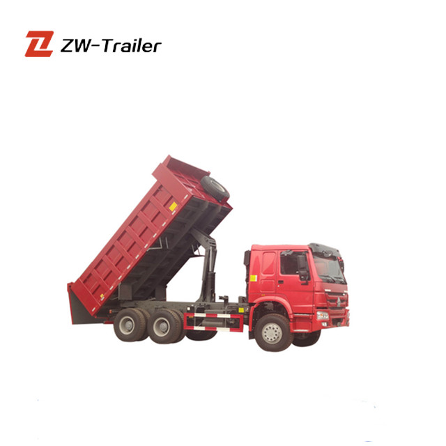 China brand Sinotruk 6x4 Howo Used Dump Truck for Sale