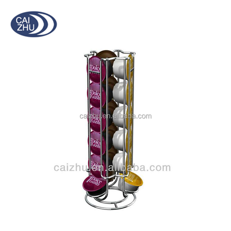 capsules de caf stand support dolce gusto capsules support pour 40 capsules porteurs. Black Bedroom Furniture Sets. Home Design Ideas