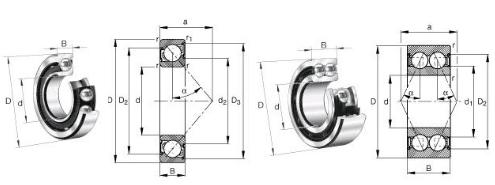 Vendita di Prezzi di fabbrica Di Alta Qualità Hub Cuscinetti DAC35650035 Con Il Formato 35*65*35mm