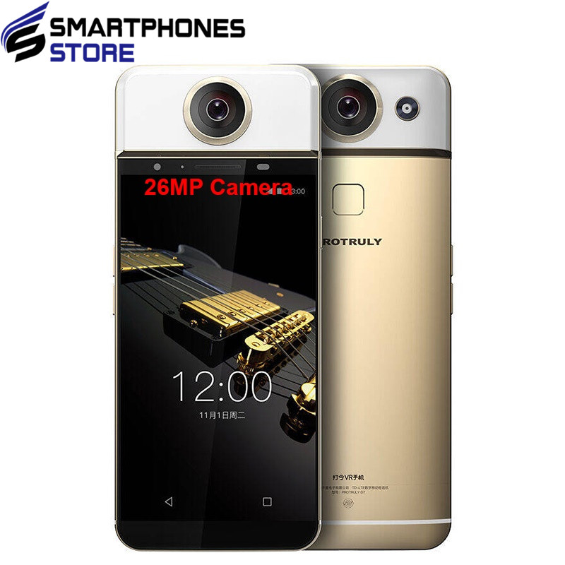 PROTRULY D7 5.5 inch AMOLED 360 Degree VR 26MP Mobile <strong>Phone</strong> 4G <strong>Android</strong> MTK6797 Helio X20 Deca Core 3G+32G Smartphone