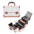 KC-W01G Home Use Aluminum Frame 3 Extensions Private Small Vanity Makeup Jewelry Case With Mirror