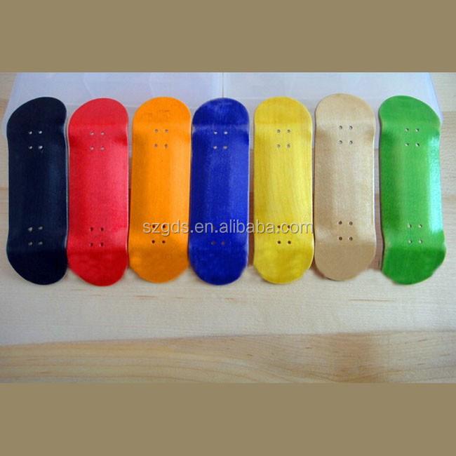En stock pas cher doigt planche roulettes uncut canadienne maple bois skate - Planche de skateboard vierge ...