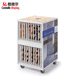High Quality Mosaic Tile Stands Stone Display Racks with Wheel