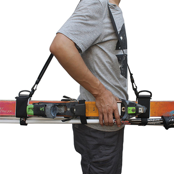 Manufacture supplier ski carrier strap with upgrade design